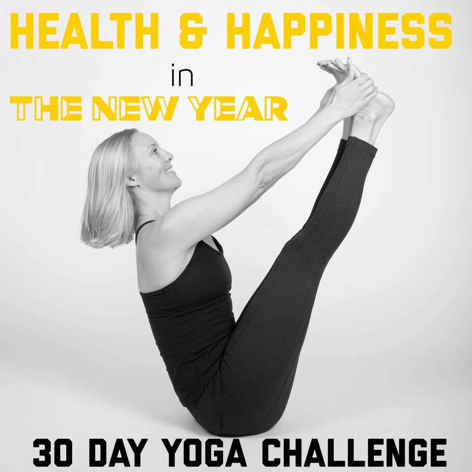 Living Your Yoga: 30 Day Yoga Challenge